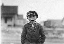 "Lewis Hine photograph and original caption. ""Boy..."