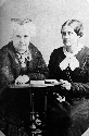 Susan B. Anthony, right, with friend and fellow...