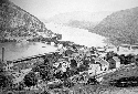 Harpers Ferry, Virginia, on the banks of the...