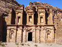 The ancient city of Petra once served as a major...
