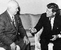 Nikita Khrushchev (left) instituted major reforms...