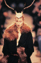 The British designer Alexander McQueen produced some of the most creative, original styles of the late 1990s. Autumn/Winter 1996–97. © 1986, 1989, 1998 and 2008 Thames & Hudson Ltd, London