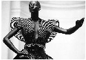 Issey Miyake is considered to be Japan's most visionary designer. Shown here is a sculptured bodice from his 1984 Bodyworks exhibition at the Victoria and Albert Museum in London.© 1986, 1989, 1998 and 2008 Thames & Hudson Ltd, London