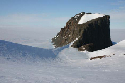 Cairn Peak, a nunatak in the Robertskollen...