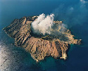 White Island, New Zealand's most active volcano,...
