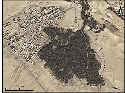 Aerial close-up of Chebika oasis. Modified from...