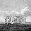 The White House as it appeared in 1814, not long...