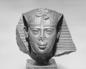 Head of a king; said to be from Sais; Dynasty 26;...