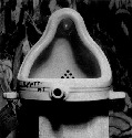 Marcel Duchamp, Fountain, 1917. Photograph by...