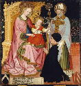 Master G. Z., Madonna and Child with the Donor,...