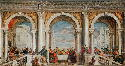 Paolo Veronese, Feast in the House of Levi, 1573....