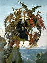 Michelangelo, The Torment of St. Anthony (after...