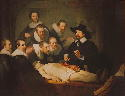 Rembrandt van Rijn, Anatomy Lesson of Dr....