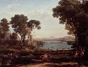 Claude Lorrain, Landscape with the Marriage of...