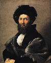 Raphael, Portrait of Count Baldassare...