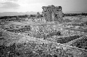 Roman forum at Chemtou, with...