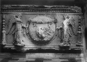 Panel depicting Victories and Shield,...