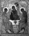 Andrei Rublev, The Holy Trinity (The three angels...